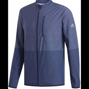 Mens large Adidas CLIMACOOL FUTURE CRAFT LAYER GOLF JACKET full zip, 3 pockets